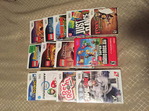 Wii + 13 jeux / games