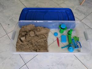 Kinetic sand play set - 8kg sand
