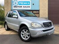 2005 MERCEDES ML270 CDI TIPTRONIC AUTO, FULL HEATED LEATHER, CRUISE +