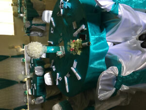 Linen and wedding decorations