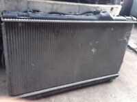 Lexus is200 radiator + fans complete rad for manual 98-05 breaking spares is 200 can post