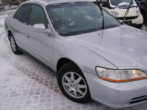 2002 Honda Accord Sedan - SAFETY AND E-TESTED