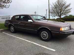 1988 Mercury Cougar LS (Collector Car)