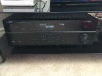 Yamaha RX-V671 Receiver and Whatfedale speaker set