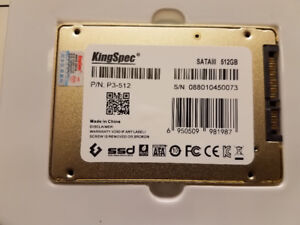 NEW 512 GB SSD FOR PC,LAPTOPS & MAC