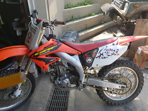 Crf 450 02 top end neuf
