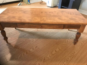 One coffee table $100
