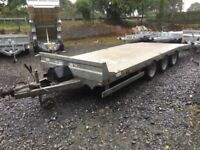 Dale Kane 16x6,6 Lowloader Tri axle trailer 1 year old digger machinery transporter car van