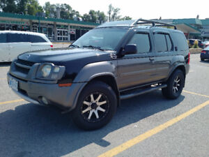 Price reduced-Low mileage 2002 Nissan Xterra SuperCharged SUV4x4