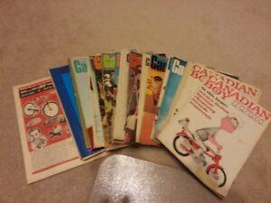 Canadian Boy Magazine - 1960's to 1970's
