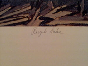 """A.J. Casson """"Pugh Lake"""" Lithograph - Appraised at $700 London Ontario image 3"""