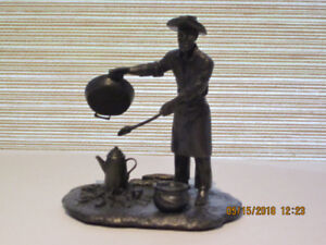 """Franklin Mint - """"The Chuck Wagon Cook"""""""