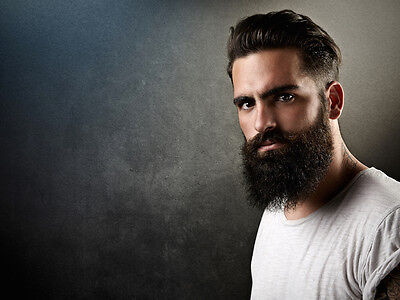 Ein bisschen wie ein Haustier. Ist er da, der Bart, muss man sich auch darum kümmern. (© Thinkstock via The Digitale)