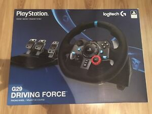Logitech G29 racing wheel / PC - PS4 - PS3