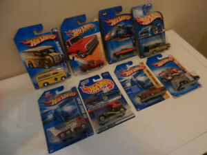 Hot Wheels Trucks Various Lot of 8 Chevy,Dodge,Ford