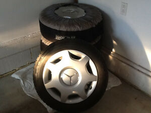 Mercedes-Benz winter tires, rims and hubcaps