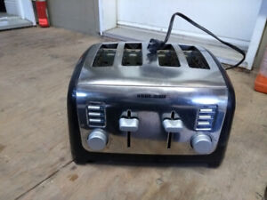 Grille pain 4 tranches Black and Decker