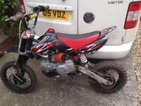 M2R 140cc race bike REDUCED!!
