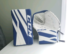 CCM eflex glove and blocker