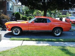 1970 Ford Mustang mach1 Coupe (2 door)