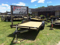 NEW OPEN CAR TRAILERS IN STOCK