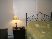 Great furnished 2 bedroom close to it all downtown
