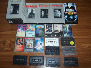 video and cassettes