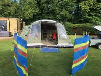 Trailer and Camping Tent