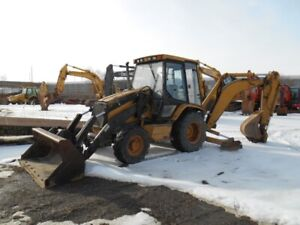 1997 CAT 416C IT 4WD Backhoe