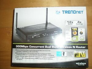 Trendnet A/B/G/N 300 mbps router, new in sealed box