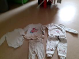 Bundle 3/6m girls clothe