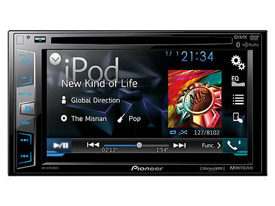 "Pioneer AVH-X3700BHS 6.2"" DVD Receiver w/ Bluetooth NO REMOTE AVHX3700BHS C"