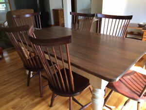 **High end rustic dining room set **