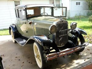 1930 model A coupe with rumble seat London Ontario image 1