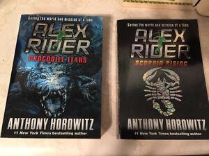 2 Alex Rider novels
