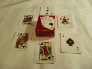 MINIATURE DECK OF PLAYING CARDS West Island Greater Montréal image 2