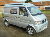 2013 Wildax DFSK Cutie 4 camper van for sale with pop top REDUCED BY £1000