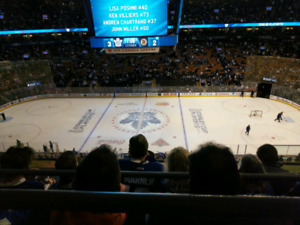 Leafs vs Columbus Blue Jackets Face Value $250 for a pair