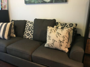 Charcoal Sofa Bed for Sale- Great Condition