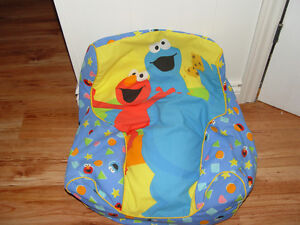 Sesame street kids bean bag
