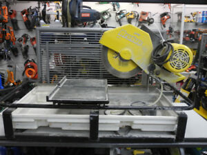 "QEP Brutus 60010 18"" Wet Tile Saw w/Pump"