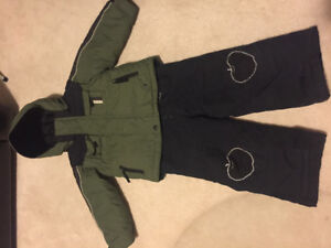 Columbia winter jacket and snowpants- 3T