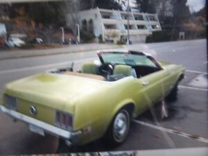 1970 ford 302 mustang convertible