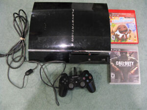 Sony PLAY STATION 3 90 MB + 1 Controller + 2 Games