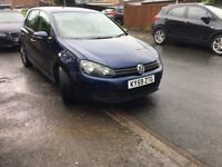 2009 vw golf 2.0 tdi (£30 to tax)