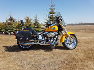 2011 Harley Davidson Fatboy low kms, new condition
