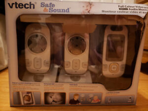 V-Tech Safe & Sound Full Color Video and Audio Monitor(2 Cameras