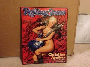 Christina Aguilera Wall Plaque - Rolling Stone Magazine Cover London Ontario image 2