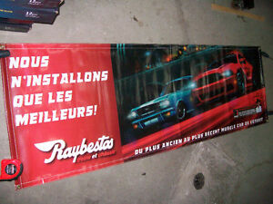 Banderole 6 pieds Raybestos / Mustang Roush 2013 West Island Greater Montréal image 1
