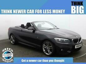 image for 2018 BMW 2 Series 218D M SPORT Auto Convertible Diesel Automatic